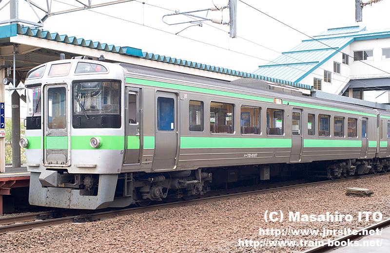 721系の機器更新車、クハ721形21...